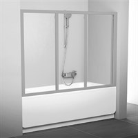 Шторка на ванну Ravak AVDP3-170 Transparent, профиль сатин