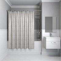 Штора для ванной комнаты 180*180см полиэстер D01P118i11 IDDIS