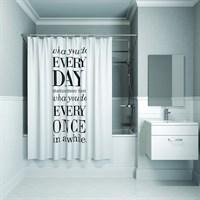 Штора для ванной комнаты 200*180см полиэстер B06P218i11 IDDIS