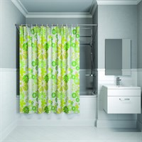 Штора для ванной комнаты 180*180см полиэстер P01P118i11 IDDIS