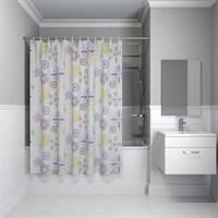 Штора для ванной комнаты 180*180см PEVA P03PV11i11  IDDIS