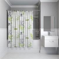 Штора для ванной комнаты 180*180см PEVA P02PV11i11 IDDIS