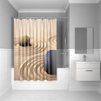 Штора для ванной комнаты 180*200 см полиэстер Sandy IDDIS 640P18Ri11