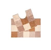 Набор ковриков для ванной комнаты 50*80+50*50 см Hopscotch IDDIS 460M580i13