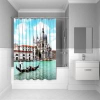 Штора для ванной комнаты 180*200 см полиэстер Venice moments Blue IDDIS 540P18Ri11