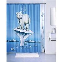 Штора для ванной комнаты 200*180 см полиэстер polar bear IDDIS SCID180P