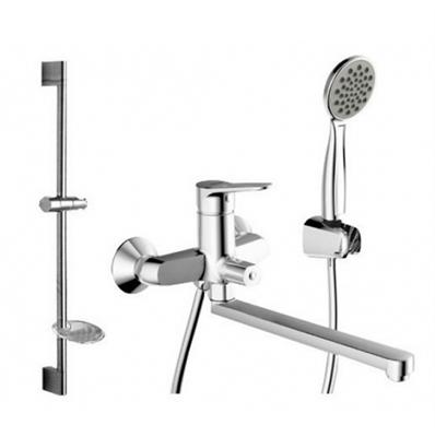 Комплект для ванной комнаты 3 -1 Bravat ECO F00414C - фото 249475