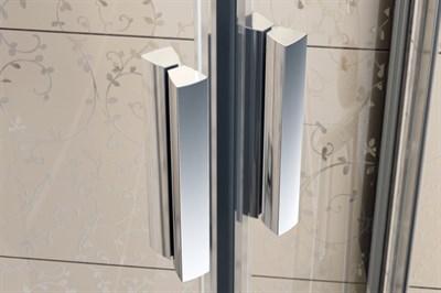 Душевая дверь Ravak Blix BLDP2 - 110 белый + грапе 0PVD0100ZG - фото 250610