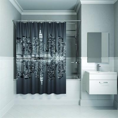 Штора для ванной комнаты 180*180см полиэстер B04P118i11IDDIS - фото 260242