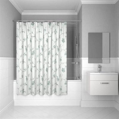 Штора для ванной комнаты 200*200 см полиэстер elegant silver IDDIS SCID132P - фото 260314