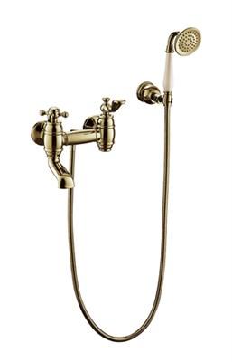 Смеситель для ванны с душем Timo Lina 7034/02Y антик - фото 261676