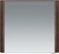 Зеркальный шкаф с подсветкой Am.Pm Sensation M30MCR0801NF правосторонний, орех текстурированный (M30MCR0801NF)