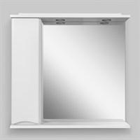 Зеркальный шкаф с подсветкой Am.Pm Like M80MPL0801WG левосторонний, белый глянец (M80MPL0801WG)