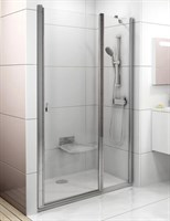 Душевая дверь Ravak Chrome CSD2-110 блестящий+транспарент (0QVDCC00Z1)