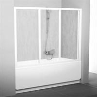 Шторка для ванны Ravak AVDP3-170 белая+рейн (40VV010241)