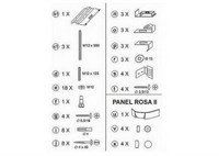 Кpепление панели Ravak Rosa универсальное (B23000100N)