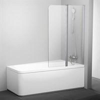 Шторка для ванны Ravak 10CVS2-100 Правая блестящий+транспарент (7QRA0C03Z1)