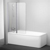Шторка для ванны Ravak 10CVS2-100 Левая блестящий+транспарент (7QLA0C03Z1)