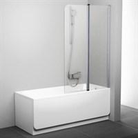 Шторка для ванны Ravak CVS2-100 P белый+транспарент (7QRA0100Z1)