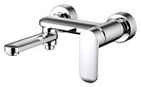 Смеситель для ванны короткий излив BRAVAT Opal  F6125183CP-01-RUS