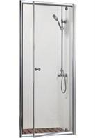 Душевая дверь BRAVAT Drop в нишу одна распашная дверь 800X2000 (BD080,4110A)