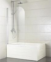 Душевая шторка BRAVAT Alfa на ванну 700х1500 одна распашная дверь (BG070,5110A-1)