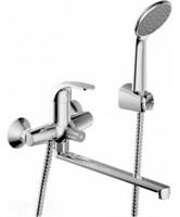 Смеситель для ванны длинный излив BRAVAT Fit F6135188CP-LB-RUS (F6135188CP-LB-RUS)