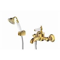 Смеситель для ванны короткий излив BRAVAT Art F675109G-B (F675109G-B)