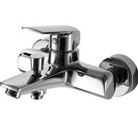 Смеситель для ванны короткий излив BRAVAT Real F6121179CP-01 (F6121179CP-01)