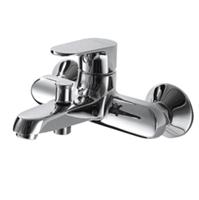 Смеситель для ванны короткий излив BRAVAT Alfa F6120178CP-01