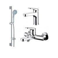 Комплект для ванной комнаты 3 в 1 Bravat Eler F00450CP