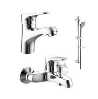 Комплект для ванной комнаты 3 -1 Bravat ECO F00313C