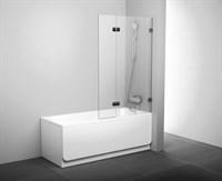 Шторка для ванны Ravak BVS2-100 хром+транспарент левая  (7ULA0A00Z1)