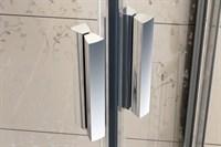 Душевая дверь раздвижная Ravak Blix BLDP2-110 белый +грейп  (0PVD0100ZG)
