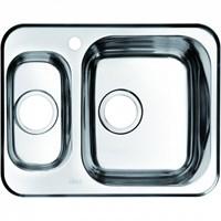Мойка нержавеющая сталь шелк 1 1/2 чаша справа 605*480 Strit S IDDIS STR60SZi77 (STR60SZi77)
