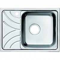 Мойка нержавеющая сталь полированная чаша справа 605*440 Arro S IDDIS ARR60PRi77
