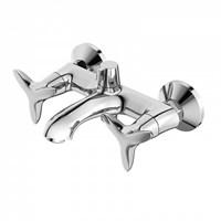 Смеситель для ванны с керамическим дивертором Copter IDDIS COPSB02i02WA (COPSB02i02WA)