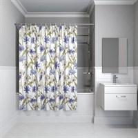 Штора для ванной комнаты 180*180см полиэстер P05P118i11 IDDIS (P05P118i11)
