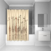 Штора для ванной комнаты 180*200 см полиэстер Safari Friends IDDIS 570P18Ri11 (570P18Ri11)