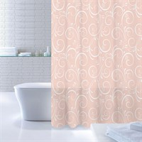 Штора для ванной комнаты 180*200 см полиэстер Breeze Totem White-Pink IDDIS 530P18Ri11