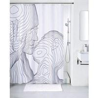 Штора для ванной комнаты 200*180 см полиэстер black&white IDDIS SCID150P