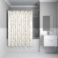 Штора для ванной комнаты 200*200 см полиэстер elegant gold IDDIS SCID131P
