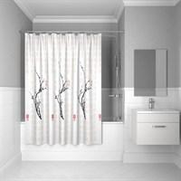 Штора для ванной комнаты 200*200 см полиэстер cherry tree IDDIS SCID100P (SCID100P)