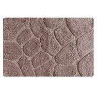 Коврик для ванной комнаты 50*80 см микрофибра ID grey stones MID200M (MID200M)
