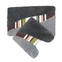 Набор ковриков для ванной комнаты 50*80+50*50 см акрил ID taormina MID170AS