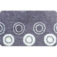 Коврик для ванной комнаты 50*80 см акрил Chequers silver IDDIS 431A580I12