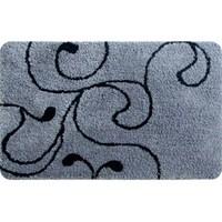 Коврик для ванной комнаты 60*90 см микрофибра Flower Lace grey IDDIS 410M690I12