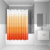 Штора для ванной комнаты 200*200 см полиэстер Orange Horizon IDDIS 300P20RI11