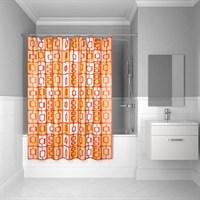 Штора для ванной комнаты 200*240 см полиэстер ID orange toffee 280P24RI11 (280P24RI11)
