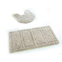 Набор ковриков для ванной комнаты 60х90 + 50х50 см микрофибра Beige Landscape IDDIS 242M590i13 (242M590i13)